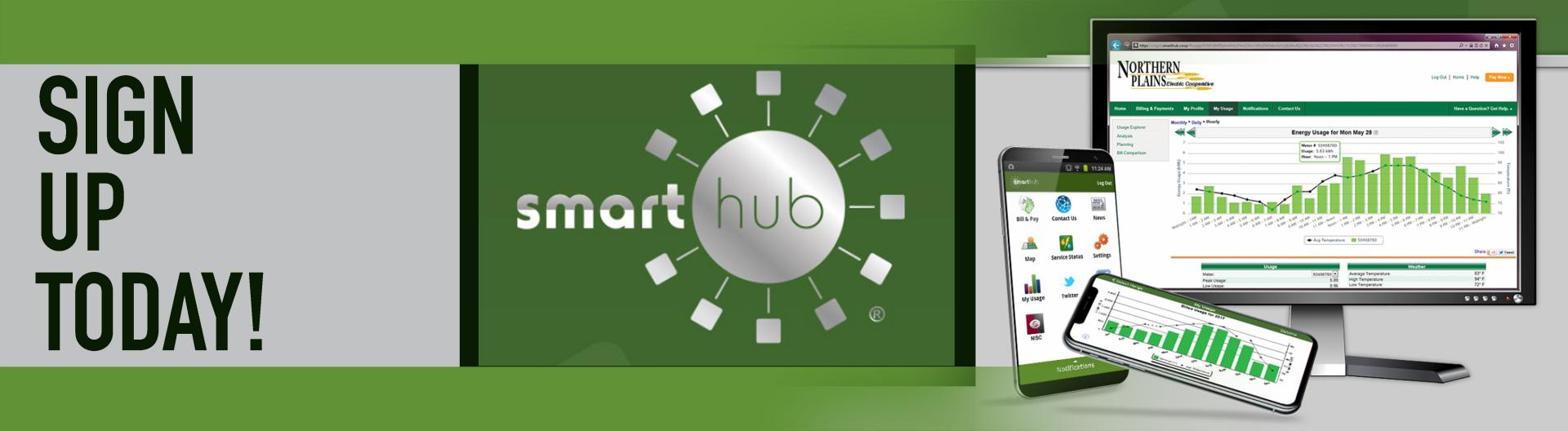 Sign up for SmartHub