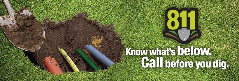 know what's below, call before you dig